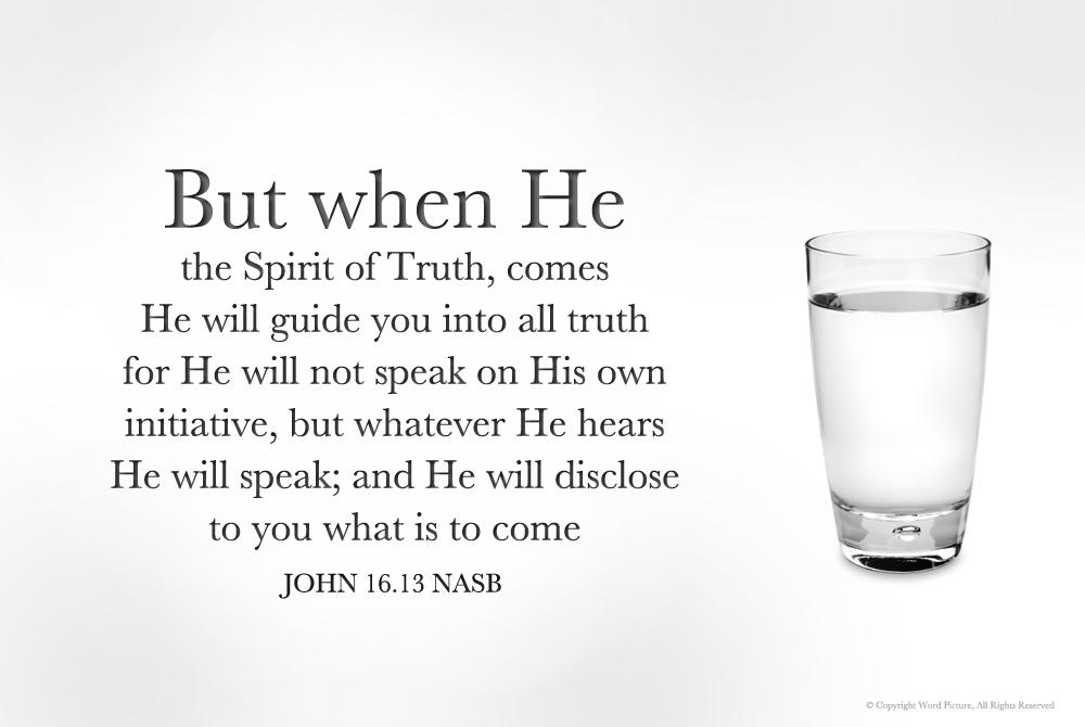 b.John16.13